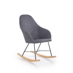 Rocking chair LAGOS  grey