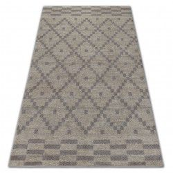 Carpet SOFT 8047 Cream/Light brown