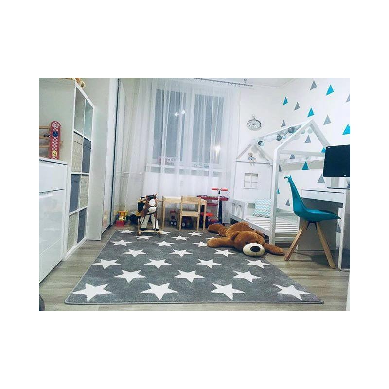 Carpet Sketch Fa68 Turquoisecream Stars