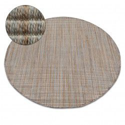 Carpet NATURE circle 90000 beige SIZAL BOHO