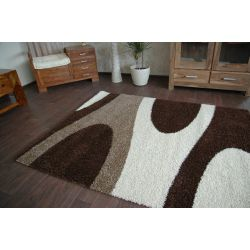 Carpet JAZZY ROCKET dark brown