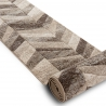 Runner FEEL 5673/15055 HERRINGBONE beige / brown / cream