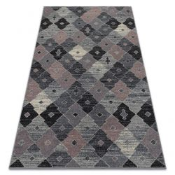 Carpet FIKA 78451 grey / pink