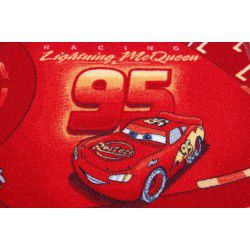 Carpet wall-to-wall DISNEY CARS red