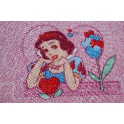 Carpet wall-to-wall DISNEY PRINCESS pink