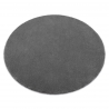 Carpet, round STAR grey