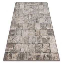 Carpet Wool MAGNETIC Retro grey
