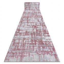 Runner ACRYLIC DIZAYN 122 pink/grey