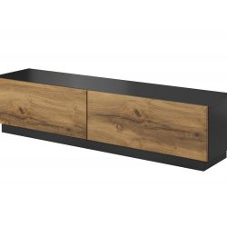 TV Cabinet LIVO RTV 160 oak / anthracite