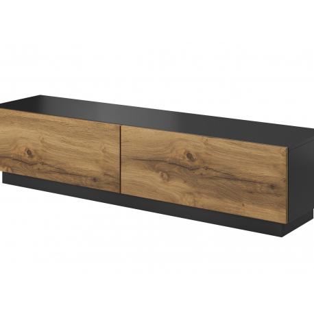 TV Cabinet LIVO RTV 160 oak / anthracite