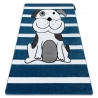 Carpet PETIT PUPPY blue