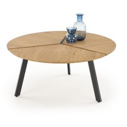 Coffee Table LUANA gold / black