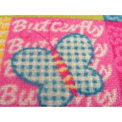 Children carpet BUTTERFLY