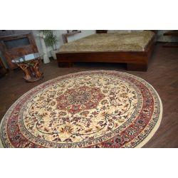 Carpet EDEN KORDOBA sand round
