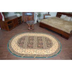 Carpet oval EDEN WITRAŻ emerald