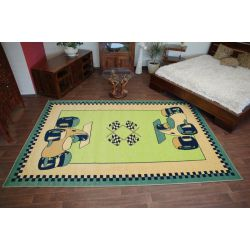 Carpet FRYZ DIXI green