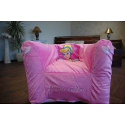 inflatable chair DISNEY CINDRELLA pink