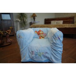 inflatable chair DISNEY TIGER blue