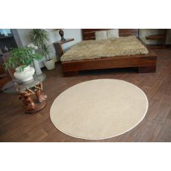 Carpet round ULTRA beige