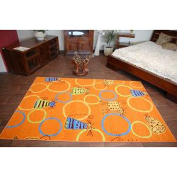 Carpet FRYZ FELINE orange