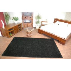 Carpet - wall-to-wall SHAGGY CARNIVAL black