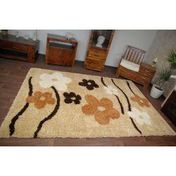 Carpet SHAGGY FLOWERS 095 gold
