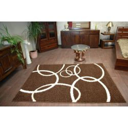 Carpet STRUCTURAL DORIS dark brown