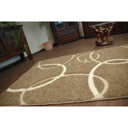 Carpet STRUCTURAL DORIS dark beige