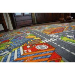Carpet wall-to-wall ULICZKI BIG CITY gray
