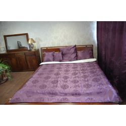 Coverlet FLORYDA purple