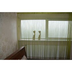 Curtain 250x300 cm DECO PASKI 10 green