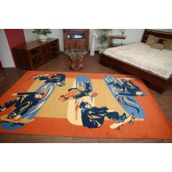 Carpet FRYZ JOY terracotta