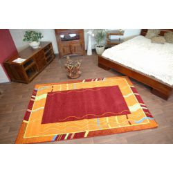 Carpet FRYZ LUZ burgundy