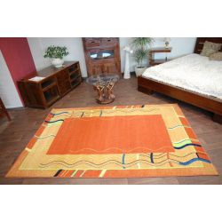 Carpet FRYZ LUZ terracotta