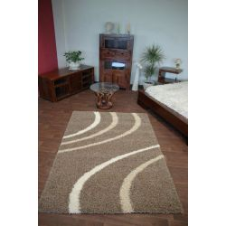 Carpet COZZY PAOLA dark beige