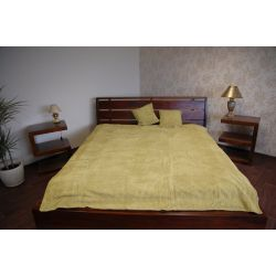 Coverlet CORD green