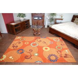 Carpet FRYZ SWEET terracotta