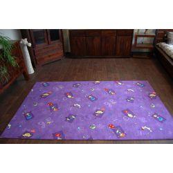 Carpet wall-to-wall HAPPY purple