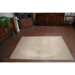 Carpet NATURAL RETE dark beige