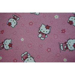 Carpet wall-to-wall HELLO KITTY 60 pink
