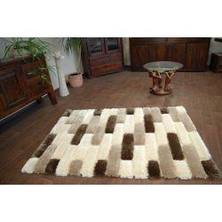 Carpet ISTAMBUŁ cream/beige grid