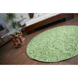 Carpet circle TOPOLINO green