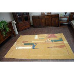 Carpet MODERN PABLO dark ocher