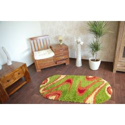 Carpet SHAGGY oval design 594 G
