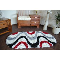 Carpet SHAGGY oval design 2147 S