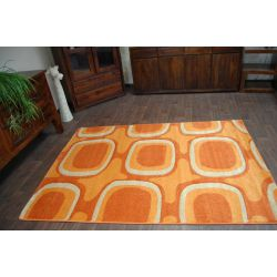 CARPET MYSTIC design 014 terracotta
