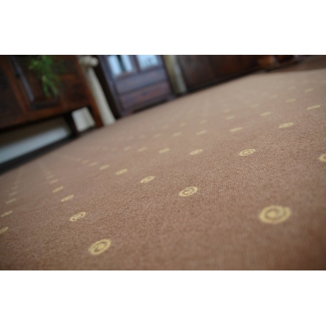 Fitted carpet CHIC 144 brown
