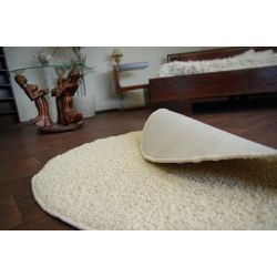 Carpet round MELODY cream