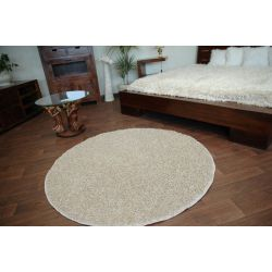 Carpet round MISTRAL light beige