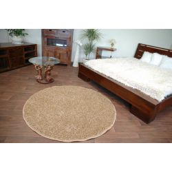 Carpet round MISTRAL honey-sweet